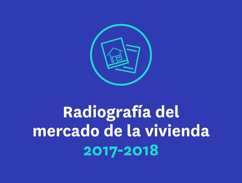 Radiografía del mercado de la vivienda 2017-2018