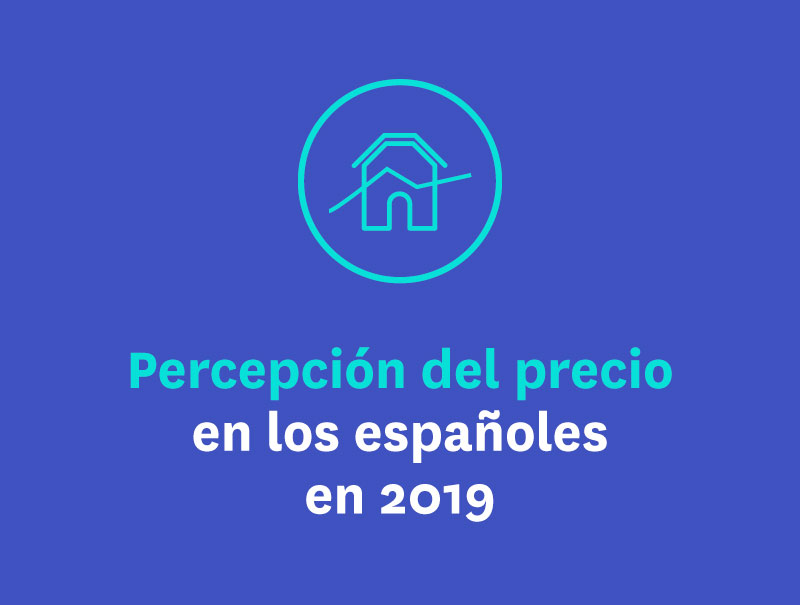 Percepción del precio en los españoles en 2019