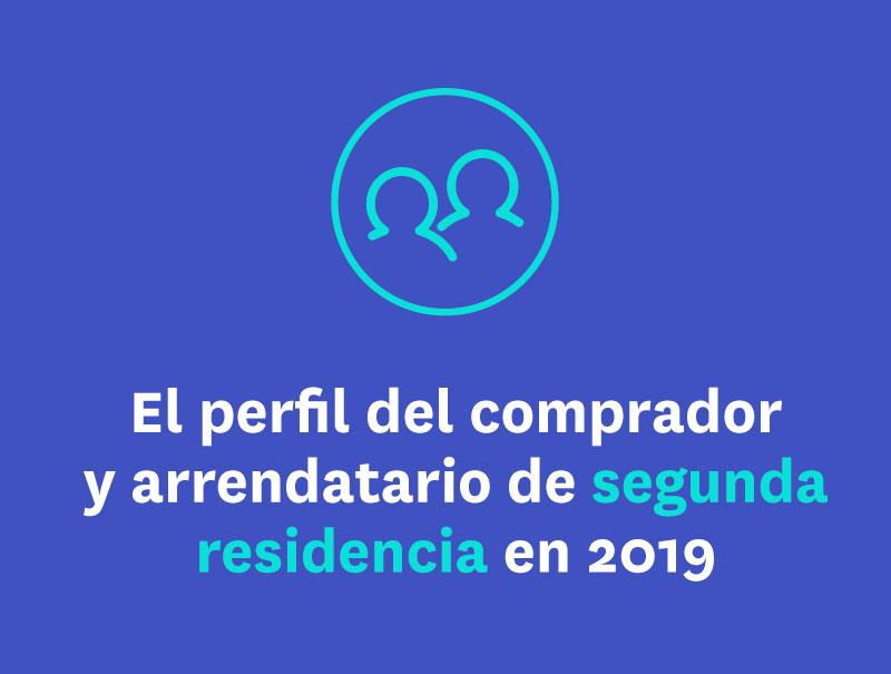 El perfil del comprador y arrendatario de segunda residencia en 2019